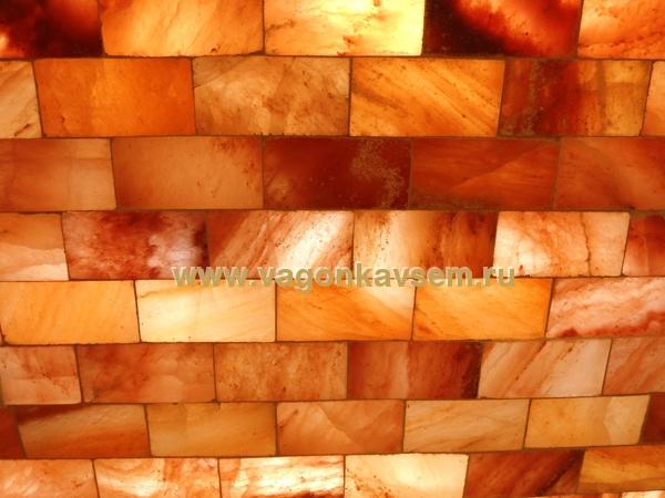 плитка из гималайской соли для бани и сауны