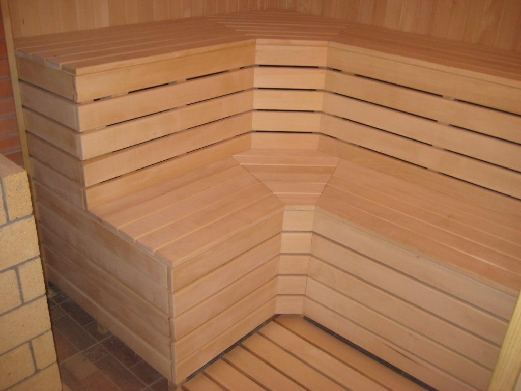 полок из липы для бани и сауны