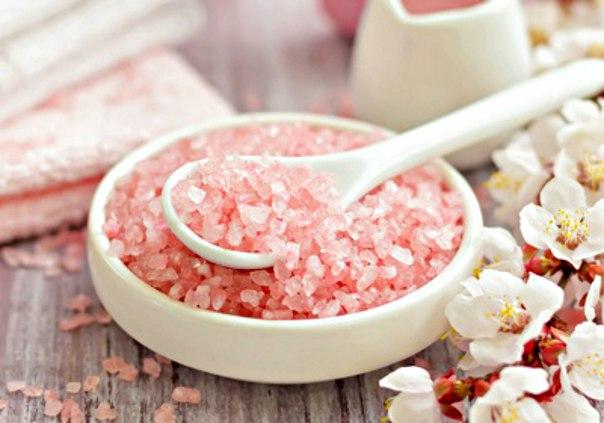 блюда с гималайской солью