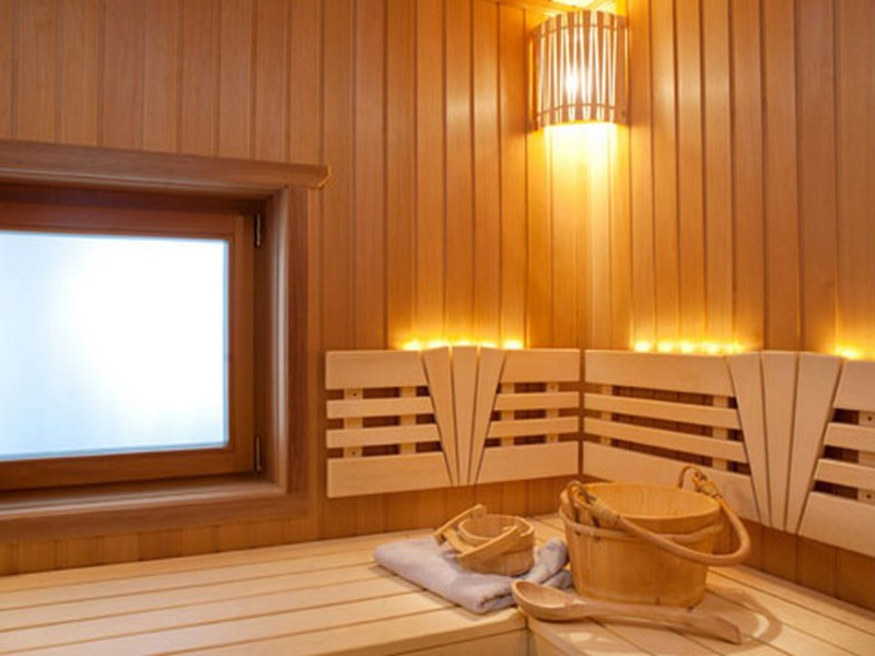 Освещение в бане и сауне