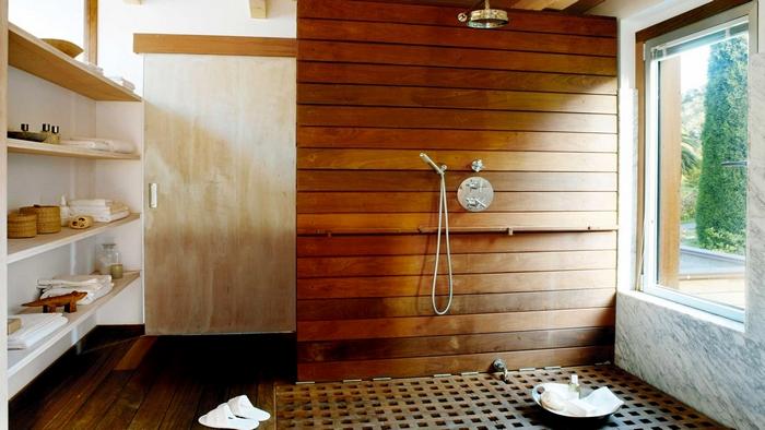 отделка бани планкеном